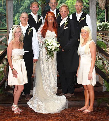 Country singer Wynonna Judd and drummer Cactus Moser wed at her family farm in Leiper's Fork, Tennessee on June 10, 2012. The bride and groom wanted to keep...