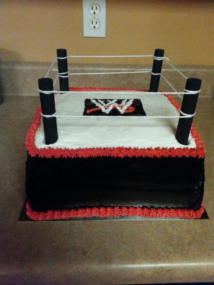 11 Best Adrians 4th Birthday Images On Pinterest Wrestling Party