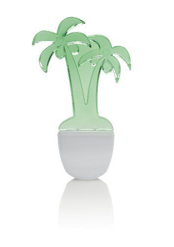 Leviton 49563-PLM Green LED, Decorative Shade Palm tree Nightlight by Leviton. $6.75. From the Manufacturer                Leviton Night Lights and Guide Lights provide just the right amount of light at the right time, in styles to please any homeowner. Both product lines include a low-wattage LED model. The night light line offers a choice of standard and automatic ON/OFF lights.                                    Product Description                120V, .5W,...