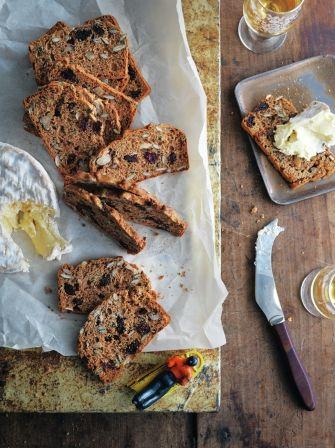 Cranberry & pumpkin-seed crispbreads.  Jamie Oliver.