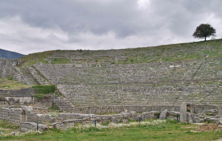 Αρχαίο Θέατρο Δωδώνης, Ιωάννινα.