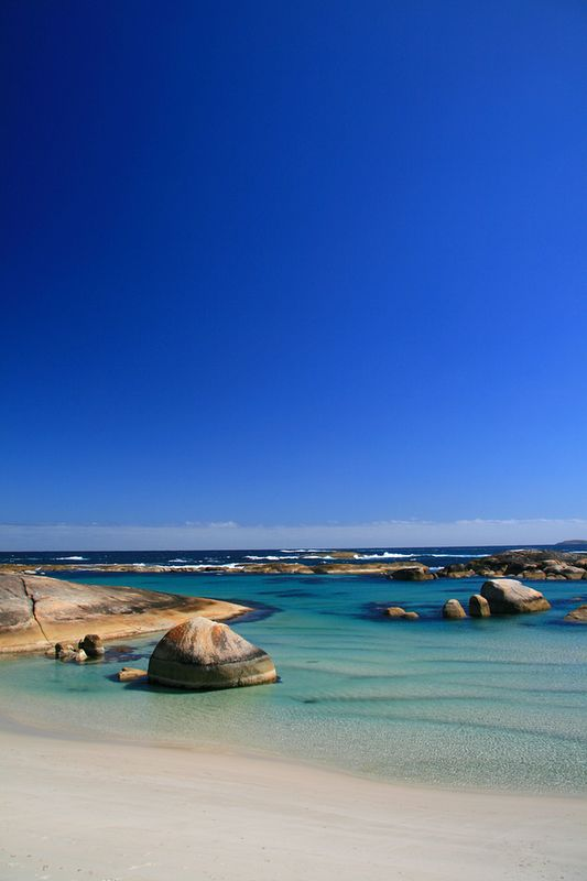 ✯ Elephant Rocks Beach, Western Australia... so blue!