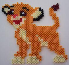 Simba Lion King hama perler beads by perle-hama-38