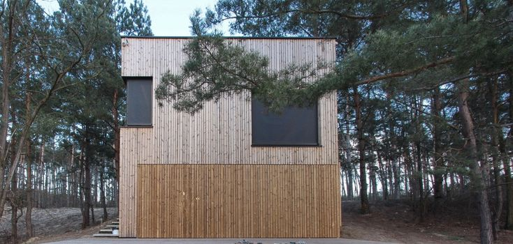 Weekend House PS / Hantabal Architekti | ArchDaily