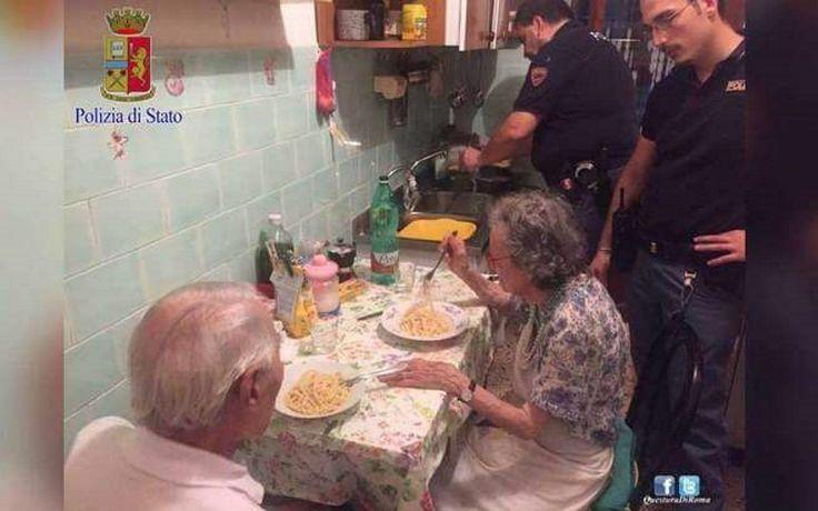 Полицейские приготовили пасту пенсионерам, расстроенным плохими новостями