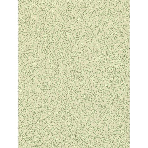 Buy Morris & Co Lily Leaf Wallpaper Online at johnlewis.com