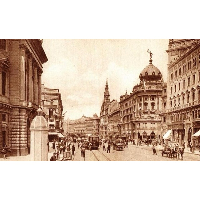 Budapest Hungary, Old Photo