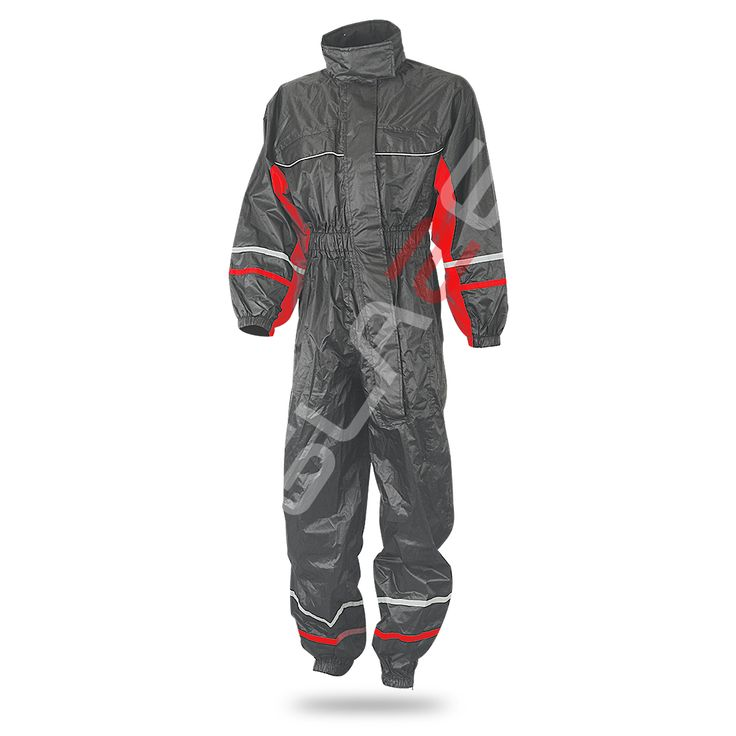 Aqua-Radium ART No # 4920-101 Description  1-piece rain suit  Outer shell • pvc-coated fabric (100% polyester)  Features • elasticated waist • easy-on diagonal labyrinth zip • zip & velcro at ankles • waist belt • arm adjustment • width adjustment at back • integrated hood
