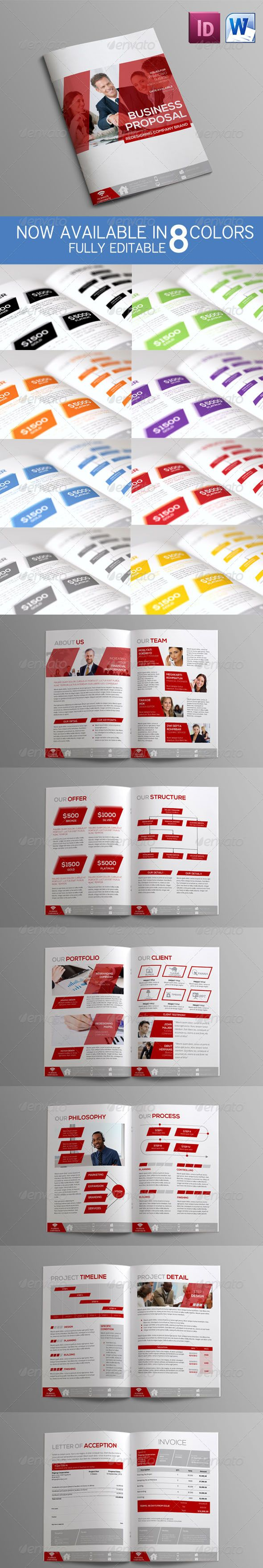 Sleman Clean Proposal Template Volume 4 25