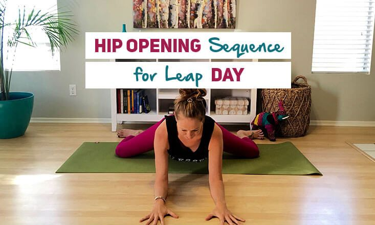 A 6-Minute Hip Opening Yoga Sequence for Leap Day http://www.doyouyoga.com/a-6-minute-hip-opening-yoga-sequence-for-leap-day-51172/ @doyouyoga