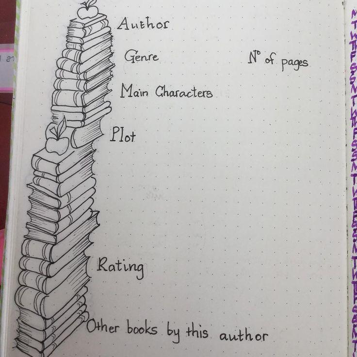 Sección de libros. #Inspiración #BulletJournal