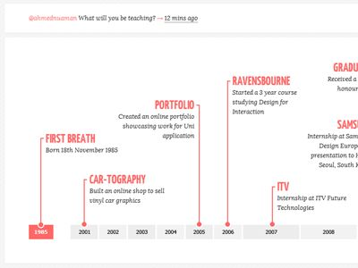 62 best #UI Timeline images on Pinterest Timeline, Info graphics - timeline resume