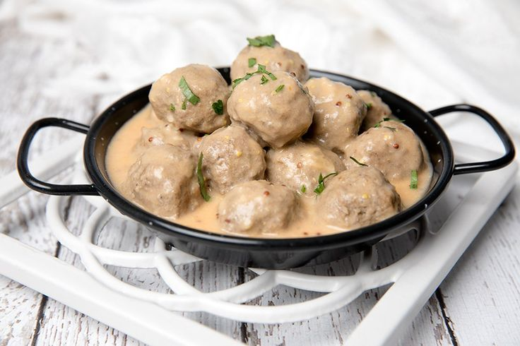 Swedish Meatballs made in the Thermomix