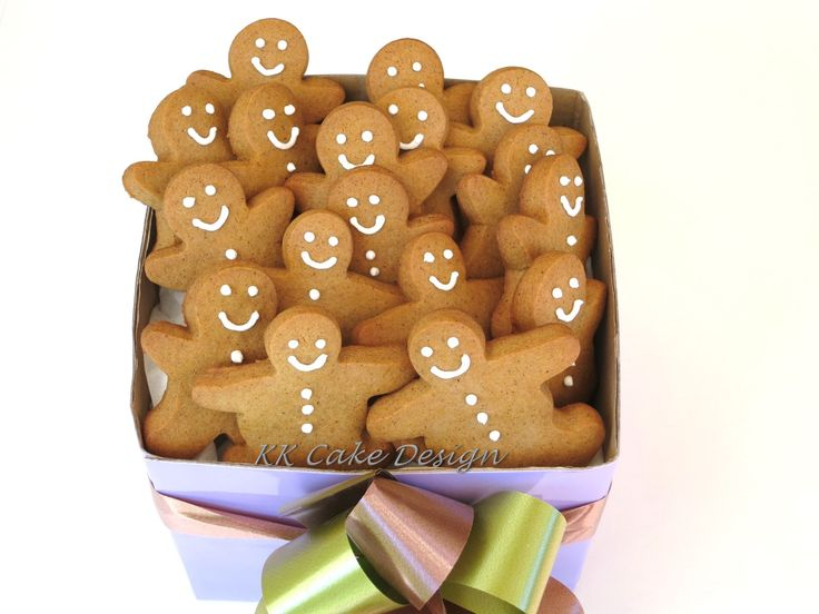 Gingerbreadmen gift bouquet