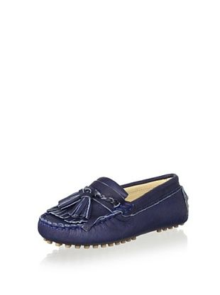 69% OFF OCA-LOCA Kid's Tassel Moccasin (Navy)