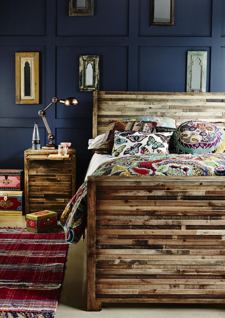 Rustic reclaimed furniture has a warm, lived in feel that's made for the bedroom. Create a cosy and relaxing sleep sanctuary with our Charlie Bed Frame, crafted from reclaimed wood. Rich colours and a distressed texture gives it a unique and distinctive look.