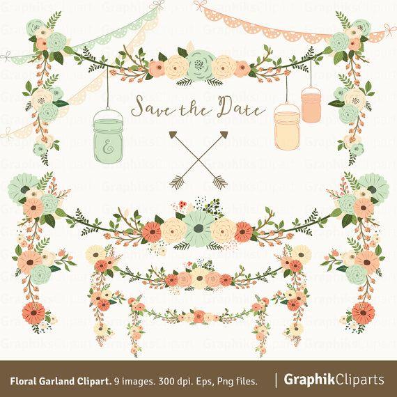 Hey, diesen tollen Etsy-Artikel fand ich bei https://www.etsy.com/de/listing/232365349/floral-garland-clipart-garland-clipart
