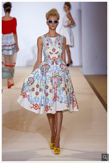 LFW: Temperley London Spring 2013: Summer Dresses, Temperley London, Spring2013, Fashion Week, London Fashion, Lfw Ss13, London Spring, Spring 2013, London Ss