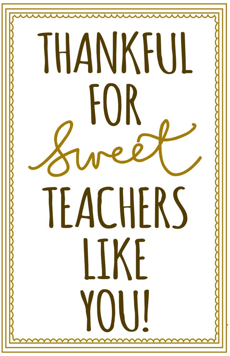 Thankful for SweetTeachers Like You, Free Printable! For mason jar, loaf bread..