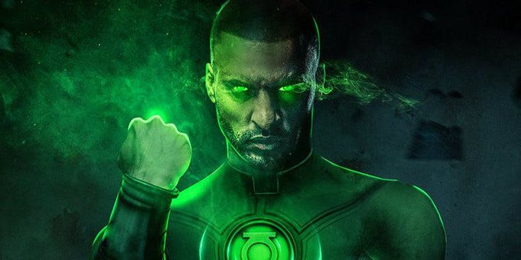 What Ricky Whittle Would Look Like As Green Lantern