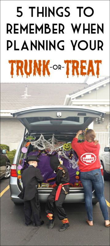 Trunk or treat? Wait what, did we just say trunk? We sure did. Trunk-or-treating is the new craze that allows kids to trick-or-treat safely while providing a fun social gathering for the parents. Your community takes over a parking lot, and the kids go trunk to trunk collecting candy. Dress up, decorate your car, and let the Halloween festivities begin. Check out eBay to learn more about this spooky tailgate party that keeps your children safe, and lets the adults have fun too.