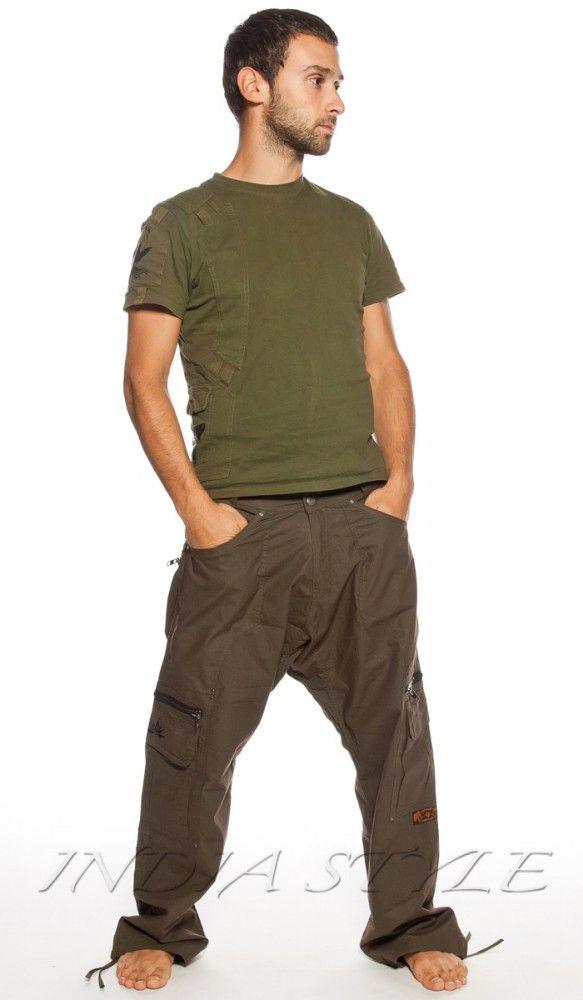 Мужские штаны цвета хаки. man`s pants khaki, military style, for travel. 4780 рублей