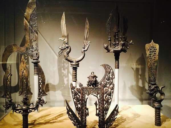 Weapons of Ancient Java | Museum NY | picture by Ras Muhamad