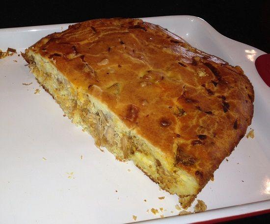 Portuguese Meat Pie (Bolo de Carne) - Easy Portuguese Recipes