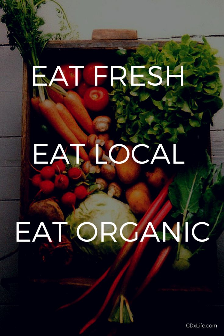 #EatLocal    #HealthyFood   #EatFresh   #OrganicFoods   #WhatIsOrganic   #HealthQuotes   #InspirationalQuotes   Eating local and organic food means you are eating fresh food that is rich in a wide variety of vitamins, minerals, antioxidants, and enzymes.
