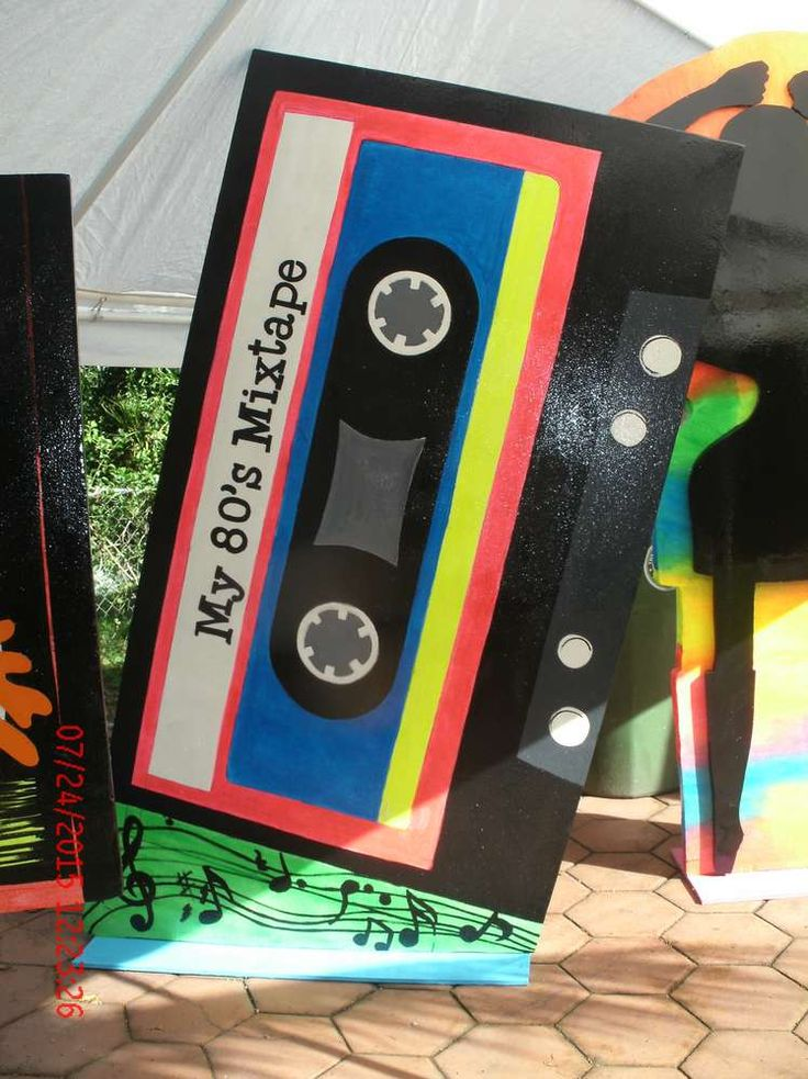 The 25+ best 80s party decorations ideas on Pinterest ...