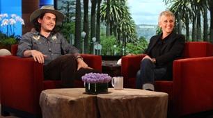 John Mayer on Ellen