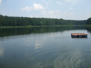 Lake, Barlinek, Poland.