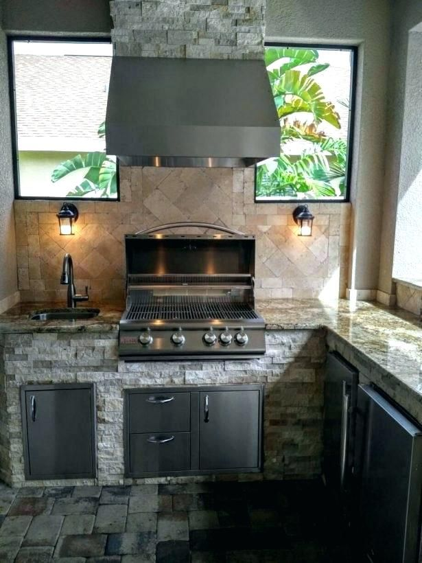 Image Result For Do You Need A Vent Hood If Outdoor Kitchen Is On A Covered Porch Big Green Egg Outdoor Kitchen Outdoor Kitchen Ideas Awesome Outdoor Kitchen