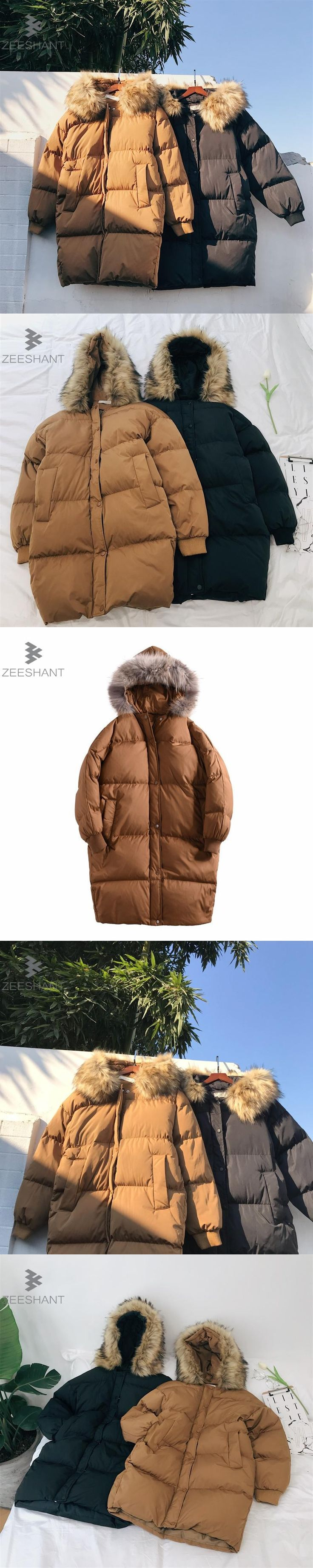 ZEESHANT -20 Degree Temperature Long Thick Warm Casual Winter Jacket Men Parkas Hombre Invierno Fur Hooded Outwear Windbreaker