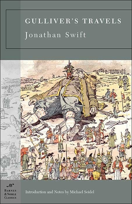 satire in gulliver's travels Il capolavoro di swift è il romanzo gulliver's travels (i viaggi di gulliver), pubblicato anonimo nel 1726 in quest'opera, divenuta un classico, la sua satira.