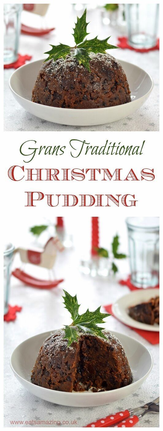 Delicious traditional Christmas Pudding recipe - family recipe passed down from from my Gran - Eats Amazing UK