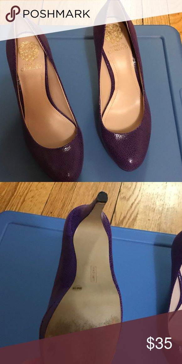 Vince Camuto purple pump Vince Camuto purple pump. Excellent condition Vince Camuto Shoes Heels