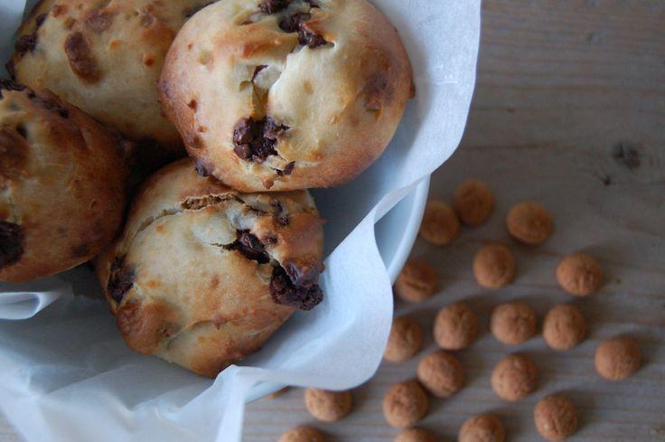 Kwarkbolletjes+met+pepernoten,+chocolade+en+speculaaskruiden