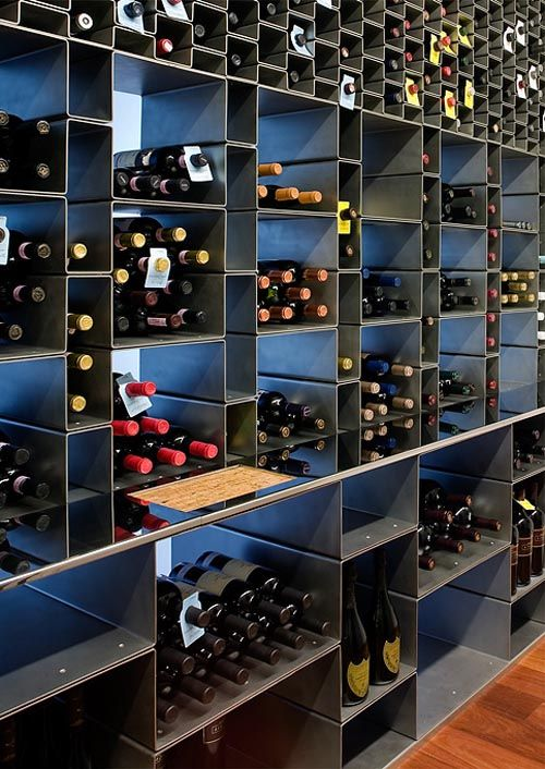 Northwest Peach Farm wine room by Bates Masi; http://batesmasi.com/search/search.html?s=Wine%20Room