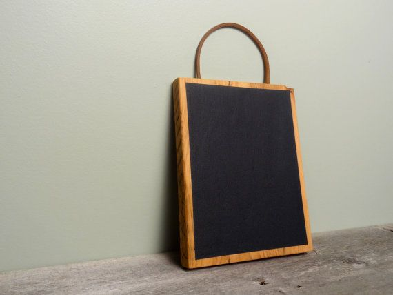 Chalkboard Tablet Chalkboard Pad Hand Held by TheHomeMarket