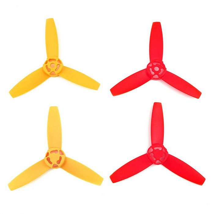 3-Blade CW & CCW Main Blades Propellers Set for Parrot Bebop Drone 3.0 - Red + Yellow. Find the cool gadgets at a incredibly low price with worldwide free shipping here. 3-Blade CW & CCW Main Blades Set for Parrot Drone 3.0 - Red + Yellow, Other Accessories for R/C Toys, . Tags: #Hobbies #Toys #R/C #Toys #Other #Accessories