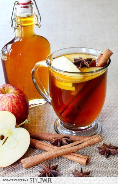 Jabłkowa herbatka z brandy na Stylowi.pl