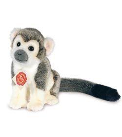 Peluche Singe gris 17 cm chez doudou-Shop.com