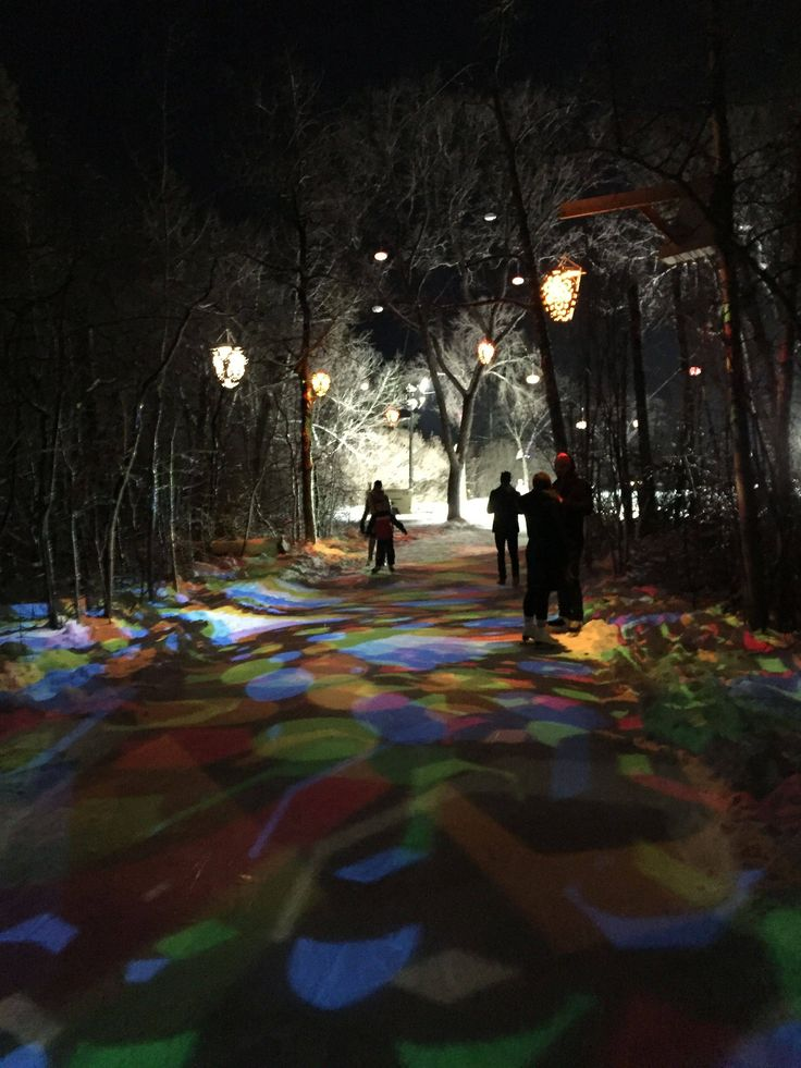 The Freezeway in Edmonton is a beautiful skating path. This pilot project could grow to a longer path allowing people to skate to work. #yeg