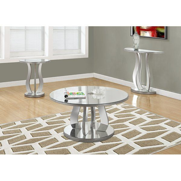 This chic and glam mirrored coffee table will provide an edge of  sophistication that will surely - 25+ Best Ideas About Mirrored Coffee Tables On Pinterest Elegant