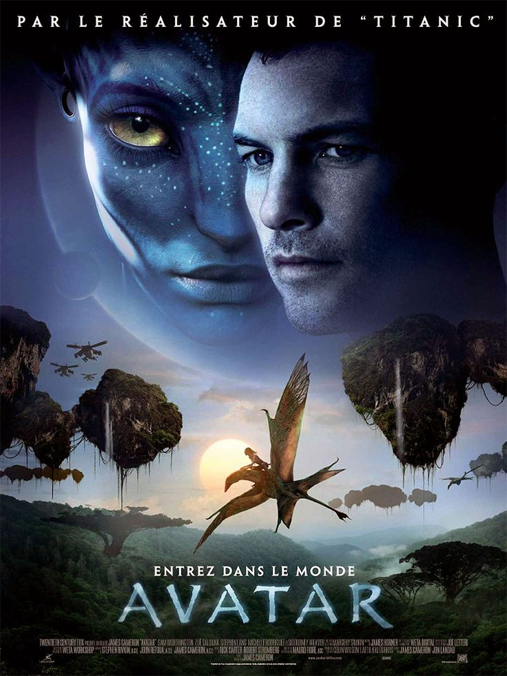 Avatar - Film de James Cameron - Affiche France