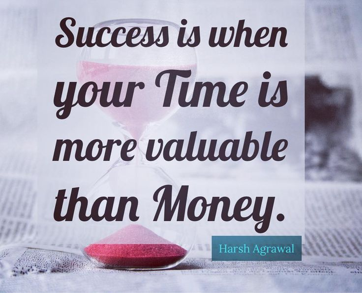 #success #money #time #life