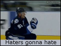 Haters gonna hate #NHL version feat. Steven Stamkos