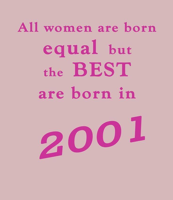 Best Women Are Born In 2003 16th Birthday T Shirt BDAY 40th Birthday Quotes 40th Birthday