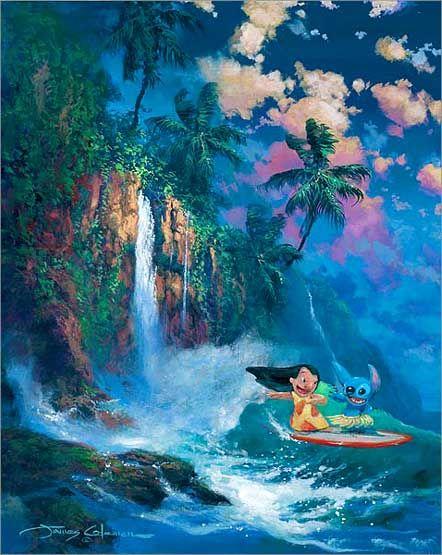 Hawaiian roller coaster ride!